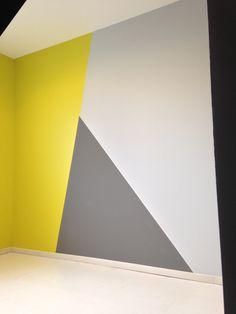 Creative Wall Painting, Creative Wall Decor, Wall Painting Decor, Mural Wall Art, Creative Walls, Living Room Wall Designs, Home Room Design, Wall Paint Inspiration, Narrow Hallway Decorating