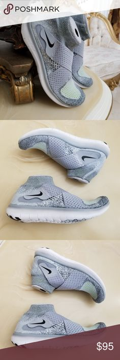 2d1591d838f3 Nike Women s Free RN Motion Flyknit 2017 Running Shoes Women s Size or Wolf  Gray  Black  Cool Gray  Volt Style Nike ...