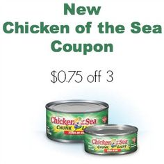 New Chicken of the Sea coupon: http://www.coupondad.net/chicken-of-the-sea-coupon-july-2014/