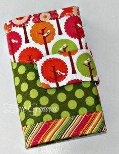 Summer Song Crochet Hook Case Organizer 12 Pockets Magnetic Snap Closure. $34.00, via Etsy.  #NeatoPinToWin