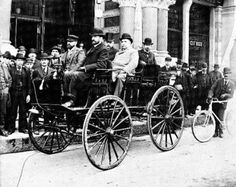 In 1893, The World's Colombian Exposition opened in Chicago, introducing the age of electricity to millions.   William Morrison's electric car was there and impressed Albert Pope, and most of the other people who made early cars, leading to the proliferation of electric cars in the late 1890's and early 1900's.