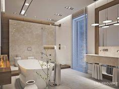 Casas de banho modernas por LK&Projekt GmbH