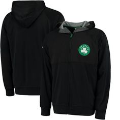 Boston Celtics adidas 2016 Pre-Game Full-Zip Hooded Jacket - Black - $84.99