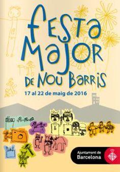 Festa Major de Nou Barris a Barcelona (maig 2016)