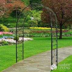 Austram Vintage 7.25-ft. Zinc-Plated Steel Arch Arbor Color - Antique Green by Austram. $189.98. Features decorative hearts and scrolls. Charming iron arbor for your garden. Weather- and rust-proof powder coated finish. Measures 60W x 16D x 87H inches. Perfect for weddings or vintage homes. Arbors add a charming accent to a walkway, provide a nice frame for a bench, or create an entrance that welcomes guests to your garden. The Austram Vintage 7.25-ft. Iron Ar...