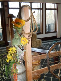 Props used at Western themed party