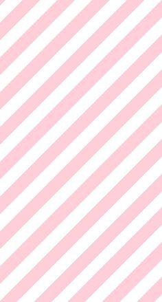 シンプルでかわいいピンクストライプ iPhone壁紙 Wallpaper Backgrounds iPhone6/6S and Plus