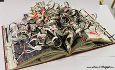 Art Room 104      Altered books
