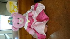 Found on 28 Aug. 2015 @ South Shields. Build a bear in a princess dress found at bus stop Visit: https://whiteboomerang.com/lostteddy/msg/zrumwf (Posted by Lisa on 02 Sep. 2015)