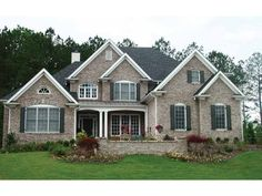 House plans new american style House design plans