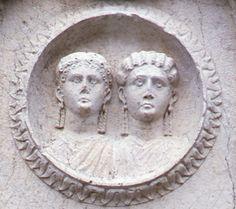 Monumento funerario dei Concordii,(particolare), Giardini pubblici di Reggio Emilia, I secolo d.C