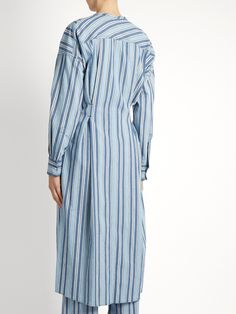 Click here to buy Isabel Marant Selby button-through striped dress at MATCHESFASHION.COM