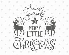 merry christmas svg christmas svg file christmas deer svg cut files deer svg file cutting files silhouette cameo cricut svg winter svg files