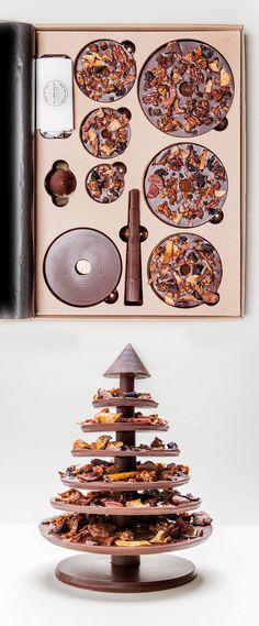 Arbre de Noël à monter soi-même - Le Chocolat - Alain Ducasse