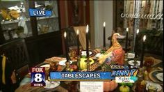 Kenny Finds Fancy Tablescapes