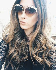 golden sunglasses