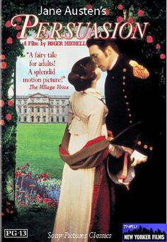 Persuation (1995) - Eight years earlier, Anne Elliot, the daughter of a financially troubled aristocratic family, was persuaded to break off her engagement to Frederick Wentworth, a young seaman, who, though promising, had poor family connections. When her father rents out the family estate to Admiral Croft, Anne is thrown into company with Frederick, because his sister is Mrs. Croft.