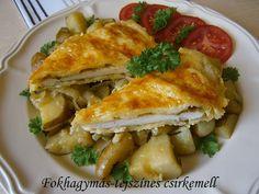 Fokhagymás-tejszínes csirkemell Hungarian Recipes, Vaj, Summer Recipes, Lasagna, Macaroni And Cheese, Chicken Recipes, Food And Drink, Turkey, Meals