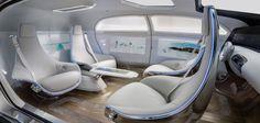 Le concept de la Mercedes-Benz F015