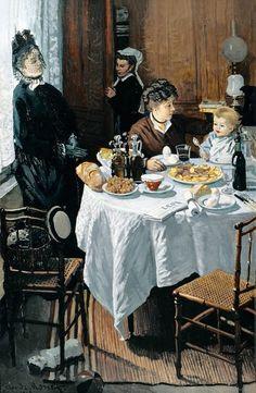 Le Déjeuner (C Monet - W 132)