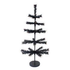 Halloween Artificial Tree - Black