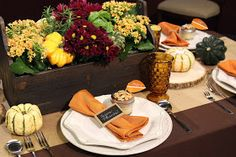She Inspires: KXAN:: Thanksgiving Table On A Budget