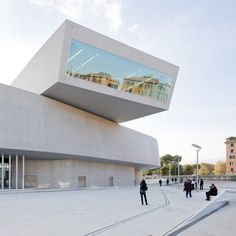 The MAXXI museum in Rome