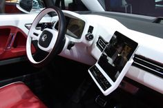Volkswagen Bulli with iPad dash