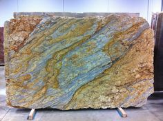 Yellow River Granite - the slabs we picked