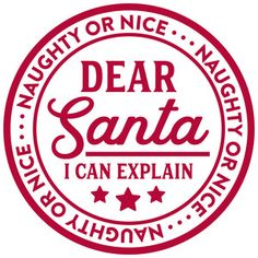 Silhouette Design Store - View Design naughty or nice dear santa Christmas Vinyl, Christmas Quotes, Christmas Projects, Winter Christmas, Holiday Crafts, Xmas, Christmas Ideas, Family Christmas, Silhouette Cameo Projects