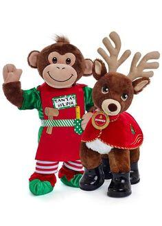 Build-a-bear or monkey or reindeer