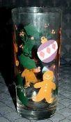 Hartstone Pottery Gingerbread Glass Tumblers