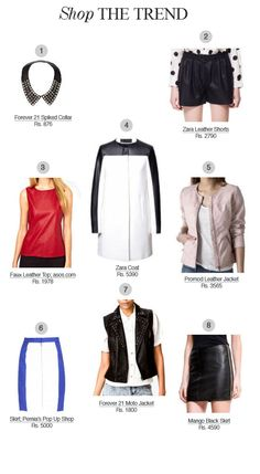 Hide & Chic: Adding a leather piece to your outfit can make it look edgy and luxurious.