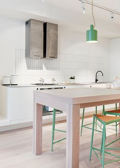 Kitchen | Garden House Waterloo Apartment by Hecker Guthrie and Icon Co | est living