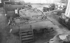 Single prototype of 90 mm gun T26 turret mounted on an M4A3 chassis.