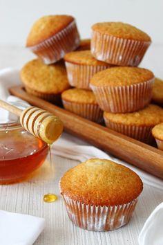 Zoet & Verleidelijk: Honing muffins