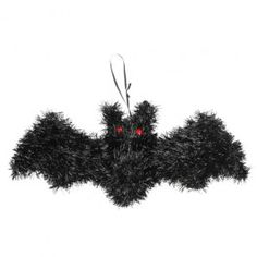 Create a frightful atmosphere at your halloween party with this hanging bat decoration. This is a halloween decoration, not a toy. Please keep out of reach of children. #POUNDLANDHALLOWEEN