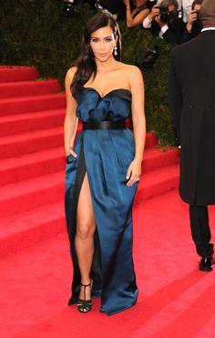 Kim Kardashian in Lanvin - despise the woman love the dress!
