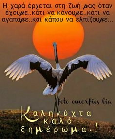 Good Night, Good Morning, Beautiful Pictures, Movie Posters, Quotes, Decor, Greek, Nighty Night, Buen Dia