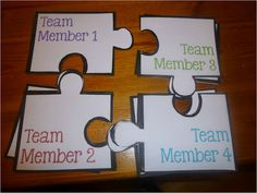 Puzzling Partner Groups - The Organized Classroom Blog