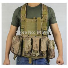 M4 RRV Chest Rig Paintball Vest Airsoft vest military molle vest  modular tactical vest military  Mardrake