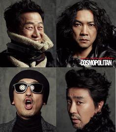 심상찮은 네 남자의 평균 나이는 마흔여섯 | 코스모폴리탄 (Cosmopolitan Korea)