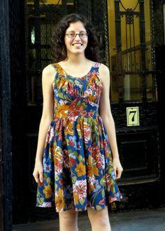 robe chantilly de chez colette patterns... elle est ravissante, à faire version sous le genou !