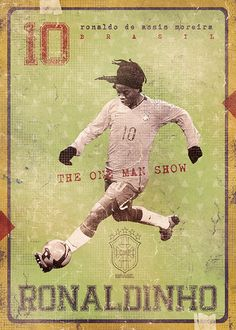 From the God of football poster design, aka Marija Marković, we& pleased to give you The Gods Of Football (Part II). We featured The Gods Of Football (Part I) on back in March… God Of Football, Football Icon, Football Is Life, Retro Football, Vintage Football, Football Soccer, Soccer Art, Soccer Poster, American Football