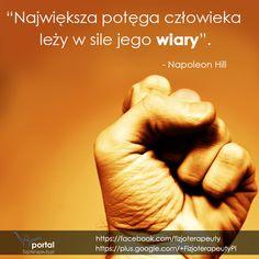 Największa potęga człowieka leży w sile jego wiary!  #motywacja #cytaty #zdrowie #fizjoterapia #rehabilitacja