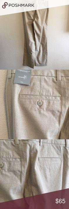 Ashworth Men's Groove Flat Font Pants NWT 34W 3rd Groove Cotton Hybrid Retail $85 ashworth Pants Dress