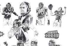 Denver Broncos- Pencil