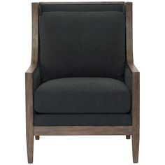 Bernhardt Interiors Leather Andre Chair
