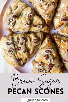 Breakfast Scones, Fruit Scones, Savory Scones, Savory Breakfast, Breakfast Time, Easy Pastry Recipes, Scone Recipes, Brunch Recipes, Breakfast Recipes
