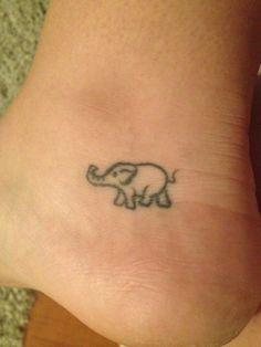 my elephant tattoo <3